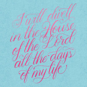 30 Days of Bible Lettering 2020